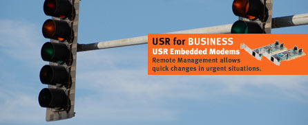 Remote management allows quick changes in urgent situations.