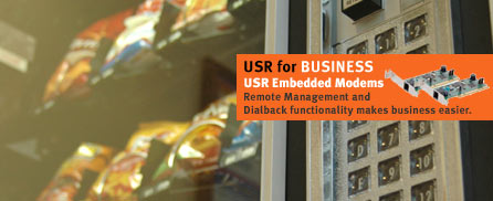Remote management and dialback functionality makes business easier